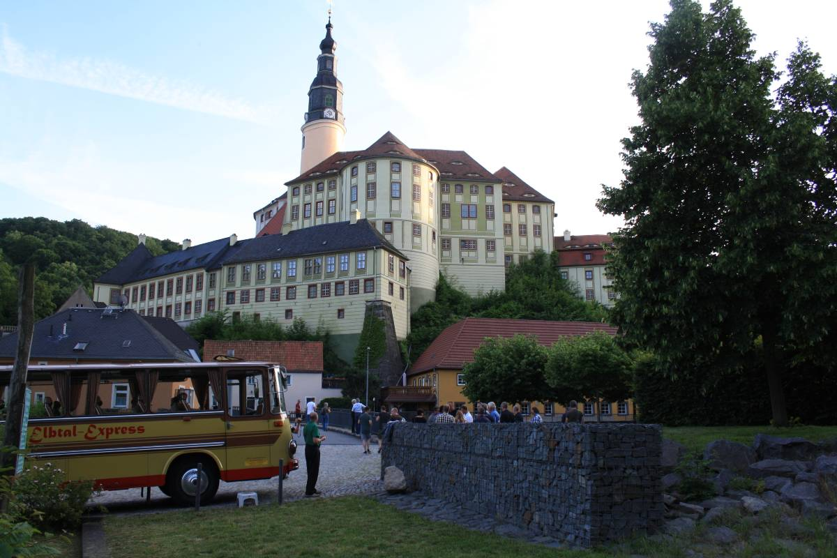 Der Whisky Bus Dresden in Weesenstein zur Whiskyverkostung
